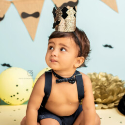 Cute Baby, Cake Smash First Birthday Shoot