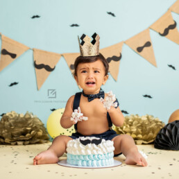 Little Man Cake Smash Theme, Cake Smash Photographer Delhi